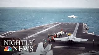 Pilot Training Mission To North Korean Border Shows Preparation In Case Of War | NBC Nightly News