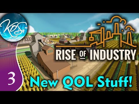 Rise Of Industry Ep 3: TERRIFIC TIRES! - ALPHA 6RC4 - Let's Play, Gameplay
