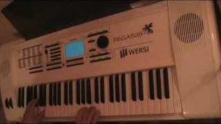 Basshunter Jingle Bells played by Robert Urbansky live! on Wersi Pegasus