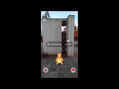 Capturando un charmander en beneixida pokemon go