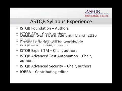 Introducing the ASTQB Mobile Testing Syllabus and Certification ...