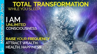 Positive Affirmations REPROGRAM WHILE YOU SLEEP  Raise Your Vibration, Consciousness, Health, Wealth