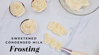 how to make frosting with sugar and milk