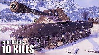 Е 100 РАЗДАЛ ЛЮЛЕЙ 🌟 EPIC BATTLE World of Tanks