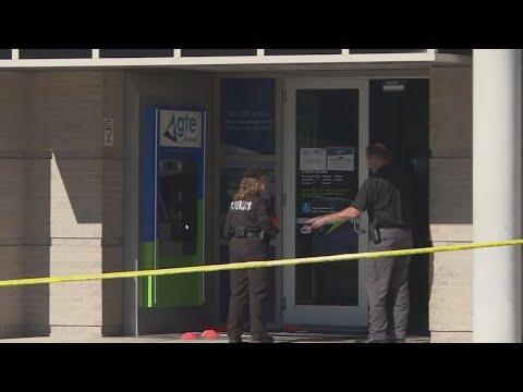 Bank robbery in Brandon