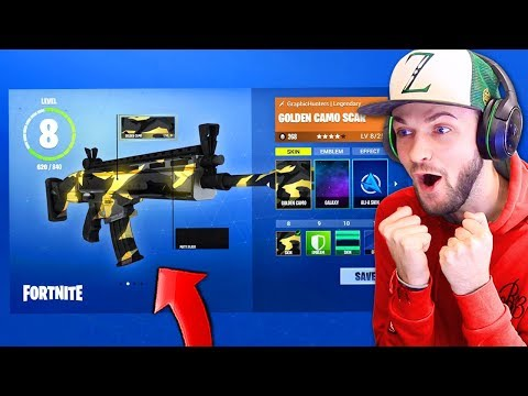 WEAPON CAMOS in Fortnite: Battle Royale! (+ MORE IDEAS)