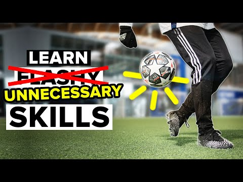 Learn 5 SUPER COOL skills, that are totally unnecessary