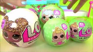 #Лол LoL Surprise  Сюрпризы ЛОЛ Все Серии #Видео для детей! Мультик с игрушками! Пупсы Лол