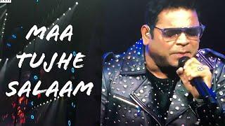 AR Rahman Live In Concert Dubai 2019 - Maa Tuje Salaam