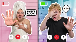 Last To Leave Their GIRLFRIEND On FACETIME WINS $10,000 **Funny COUPLES CHALLENGE**📱|Lev Cameron