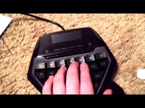 Logitech G13 Gaming Keypad or Keyboard Unboxing & First Look