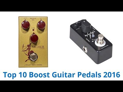 10 Best Boost Guitar Pedals 2016