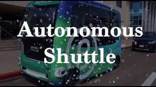 TAMU-CC's new Autonomous Shuttle
