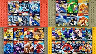 LEGO Marvel DC Big Fig Compilation (knock-off)