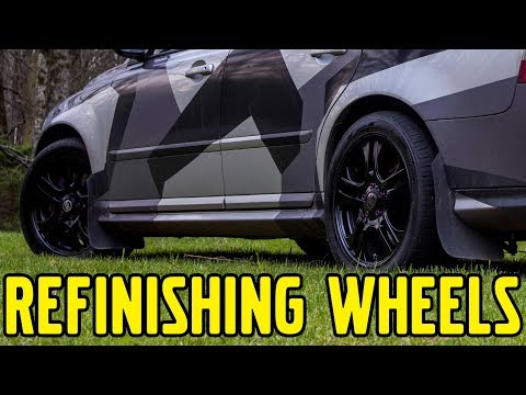 Project V50, Episode 48: Refinishing Wheels
