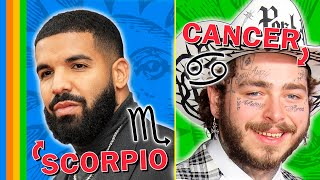 THE BIGGEST RAPPER FROM EACH ZODIAC SIGN