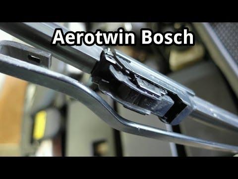 Scheibenwischer wechseln (Aerotwin Bosch)