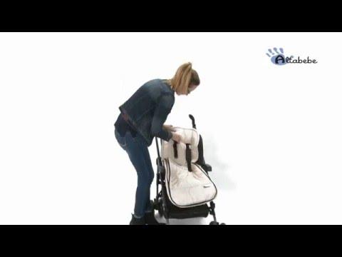 Altabebe Sommerfußsack für Kinderwagen AL2200 - Video-Anleitung