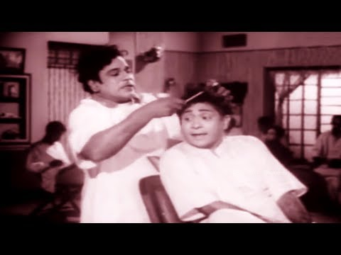 M.R.Radha Sallon Shop Comedy சலூன் கடையில் நடக்கும் காமெடி கலாட்டா    M.R Radha Comedy Scenes