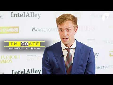 Markets Media Video: Tim Coates, Synechron - Part 1