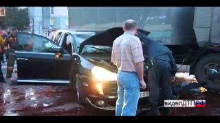 Аварии ДТП - Porsche Cayenne VS Камаз 17.06.2011 Краснотурьинск