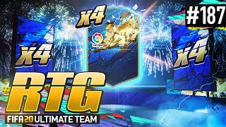 WE PACK 4 LA LIGA TOTS! - #FIFA20 Road to Glory! #187! Ultimate Team