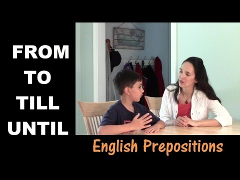 From Day to Day: Learning Prepositions of Time