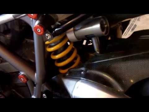 2008 Ducati 1098S 1099cc 6-speed - 3403 miles