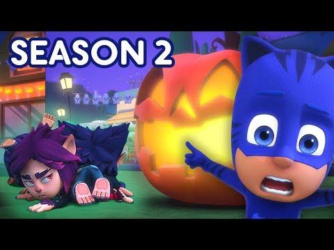 PJ Masks Halloween Tricksters! 🎃SEASON 2 HALLOWEEN SPECIAL 🕸PJ Masks Official