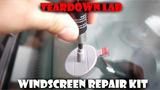 Windshield Repair Kit Tutorial