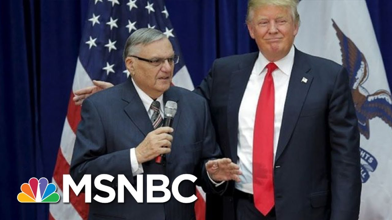 Mika: Is Joe Arpaio Pardon Just The First Of Many Bad Ones? | Morning Joe | MSNBC thumbnail