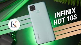 Infinix Hot 10S Unboxing: $120 Gaming Phone