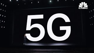Apple CEO Tim Cook: Today we are bringing 5G to iPhone