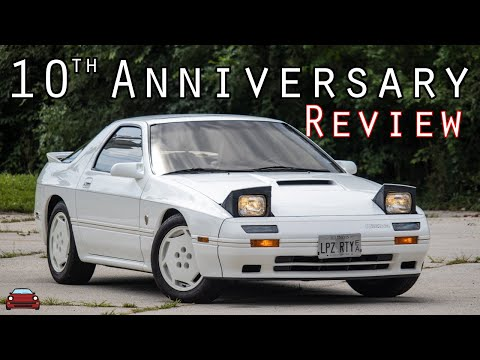 1988 Mazda Rx-7 10th Anniversary Edition Review - Celebrating 10 Years Of The Rx-7!
