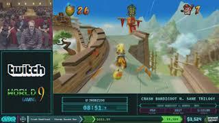 Crash Bandicoot N. Sane Trilogy (Crash Bandicoot 3) by JHobz in 59:15 -AGDQ 2018  -  Part  2