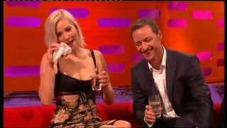 Toilet joke reduces Jennifer Lawrence to tears
