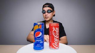Coke vs. Pepsi Blind Taste Test
