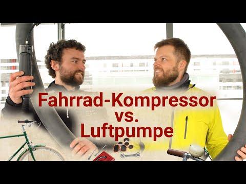 Fahrradreifen aufpumpen mit Kompressor oder Luftpumpe: Was ist besser?