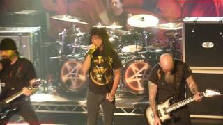 Anthrax - Earth on Hell Live at The Academy Dublin Ireland 16 Nov 2012