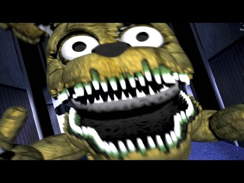 five nights at freddys 4 night 2 jumpscare plushtrap