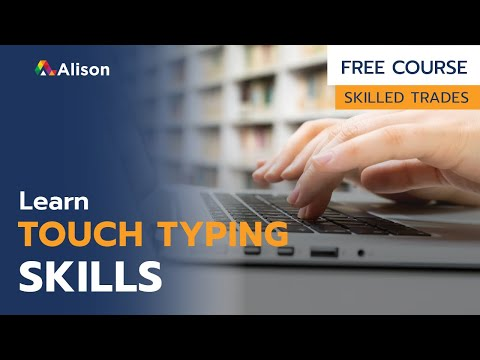 Touch Typing Training Skills- Free Online Course with Certificate ...