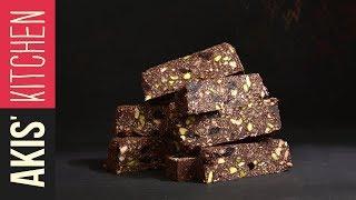 Chocolate Energy Bars With Nuts | Akis Petretzikis