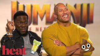 'He wears diapers at night!': Dwayne The Rock Johnson & Kevin Hart rip each other to shreds