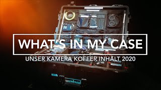 What's in my Case   Unser Kamera-Koffer 2020