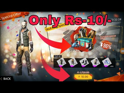 [Freefire] How To Get Special Airdrop Only Rs-10/- On FreeFire Game|| Special Airdrop 95% Off