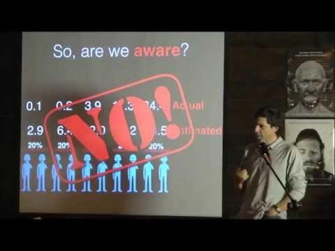 הרצאה מרתקת של דן אריאלי על התפיסות המוטעות שלנו