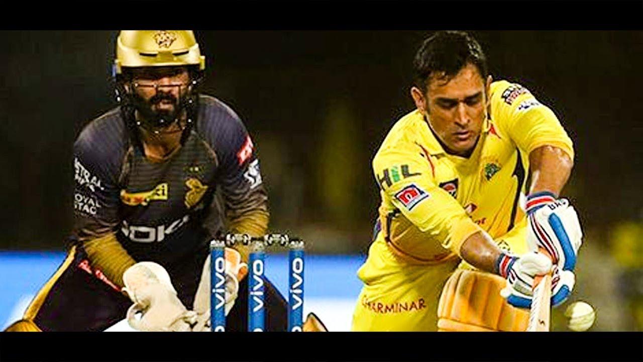 CSK Thrashes KKR By Five Wickets : CSK Vs KKR Match Highlights | Dhoni | IPL 2019