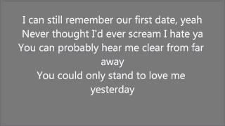 Cheryl cole - screw you lyrics