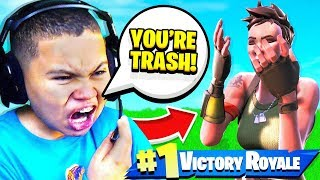 My Little Brother *TROLLS* Little Kid TRASH TALKERS  In Random PLAYGROUND... (FORTNITE FUNNY!)