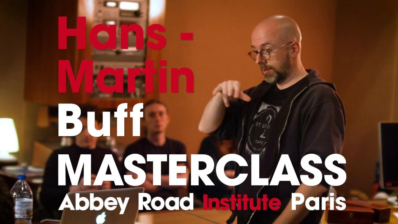 Master Class avec Hans-Martin Buff